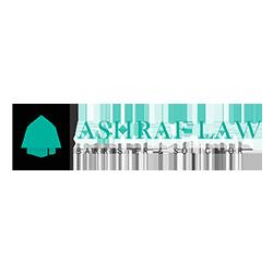 Ashraf law logo