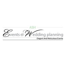 Ash Events and wedding planning logo